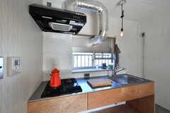 キッチンの様子。(A101号室)※モデルルームです。(2019-12-01,専有部,ROOM,1F)