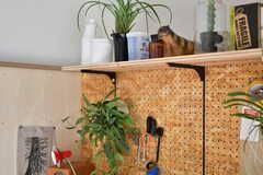 造作棚の様子。(A101号室)※モデルルームです。(2019-12-01,専有部,ROOM,1F)