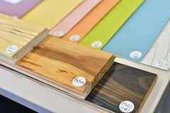 早期の申込み特典として壁紙の色と床材の仕上げを選べます。(2019-12-01,共用部,OTHER,1F)