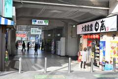 各線・綾瀬駅の様子2。(2019-12-01,共用部,ENVIRONMENT,1F)