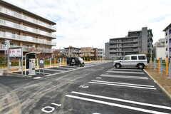 駐車場の様子。コインパーキングとしても、月極の駐車場としても利用可能です。(2020-03-17,共用部,GARAGE,1F)