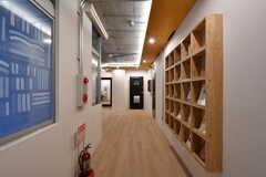 廊下の様子。(2020-03-06,共用部,OTHER,1F)