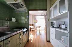 キッチンの様子2。(2013-08-30,共用部,KITCHEN,4F)