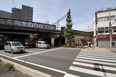 京成本線・千住大橋駅前の様子。(2013-08-30,共用部,ENVIRONMENT,1F)