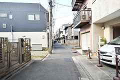 周辺は静かな住宅街です。(2016-10-27,共用部,ENVIRONMENT,1F)