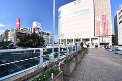 各線・北千住駅前の様子。(2016-10-27,共用部,ENVIRONMENT,1F)
