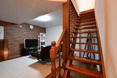 階段の様子。(2017-02-20,共用部,OTHER,1F)