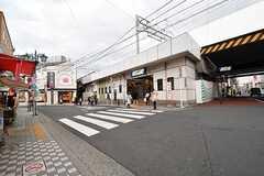 東武伊勢崎線・五反野駅の様子。(2017-02-20,共用部,ENVIRONMENT,1F)