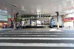 東武伊勢崎線・梅島駅の様子。(2018-04-09,共用部,ENVIRONMENT,1F)