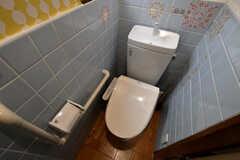 ウォシュレット付きトイレの様子。(2020-09-08,共用部,TOILET,2F)