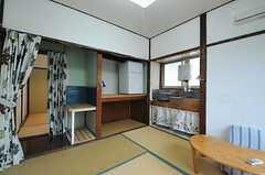 専有部はキッチン付きです。(201号室)(2012-10-17,専有部,ROOM,2F)