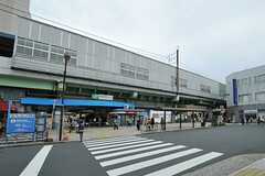JR常磐線・亀有駅の様子。(2012-10-17,共用部,ENVIRONMENT,1F)