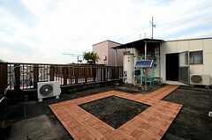 屋上の様子。(2012-11-22,共用部,OTHER,4F)