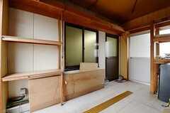 屋上の入り口まわりの様子。(2012-11-22,共用部,OTHER,4F)