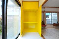 収納の様子。ビビッド!(101号室)(2012-05-14,専有部,ROOM,1F)