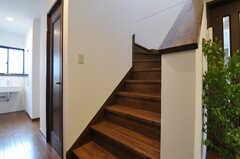 階段の様子。(2012-05-14,共用部,OTHER,1F)