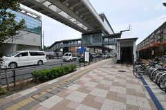 舎人ライナー・西新井大師西駅の様子。(2012-05-14,共用部,ENVIRONMENT,1F)