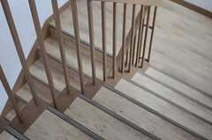 階段の様子2。(2013-10-21,共用部,OTHER,4F)