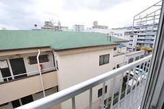 窓から見た外の景色。(403号室)(2013-10-21,専有部,ROOM,4F)
