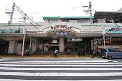 各線・綾瀬駅の様子。(2013-10-21,共用部,ENVIRONMENT,1F)