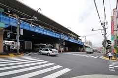 各線・綾瀬駅前の様子。(2013-10-21,共用部,ENVIRONMENT,1F)