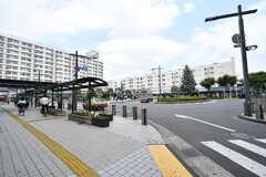東武スカイツリーライン・竹ノ塚駅前の様子。(2017-07-18,共用部,ENVIRONMENT,1F)