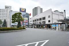 東武スカイツリーライン・竹ノ塚駅の様子。(2017-07-18,共用部,ENVIRONMENT,1F)