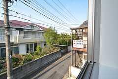 窓からの景色。(205号室)(2016-04-12,専有部,ROOM,2F)