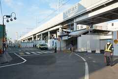 東武伊勢崎線・竹ノ塚駅の様子。(2016-04-12,共用部,ENVIRONMENT,1F)