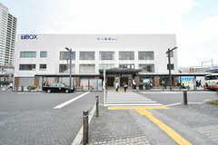 東武スカイツリーライン・竹ノ塚駅の様子。(2017-05-18,共用部,ENVIRONMENT,1F)