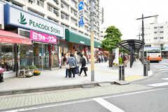 東武スカイツリーライン・竹ノ塚駅前の様子2。(2017-05-18,共用部,ENVIRONMENT,1F)