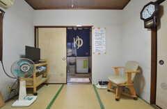 バスルームの待合室の様子2。(2014-08-19,共用部,OTHER,1F)