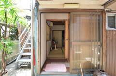 待合室への入り口。(2014-08-19,共用部,OTHER,1F)