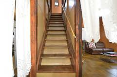 階段の様子。(2014-08-19,共用部,OTHER,1F)