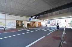 東武伊勢崎線・五反野駅の様子。(2014-08-19,共用部,ENVIRONMENT,1F)