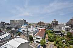 屋上からの景色。(2012-08-07,共用部,OTHER,6F)