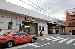 東武伊勢崎線・五反野駅の様子。(2011-08-30,共用部,ENVIRONMENT,1F)