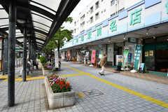 東武スカイツリーライン・竹ノ塚駅前の様子。(2017-07-03,共用部,ENVIRONMENT,1F)