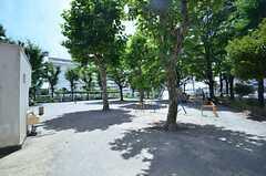 近くには公園があります。(2015-07-13,共用部,ENVIRONMENT,1F)