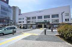 東武伊勢崎線・竹ノ塚駅の様子。(2015-07-13,共用部,ENVIRONMENT,1F)
