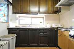 キッチンの様子。(2013-04-12,共用部,KITCHEN,2F)