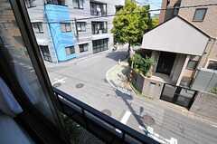窓から見た景色。(201号室)(2013-04-12,専有部,ROOM,2F)