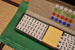 畳ルームには麻雀牌が用意されています。(2019-03-17,共用部,OTHER,-1F)