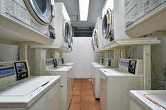 洗濯機と乾燥機は7台ずつ設置されています。(2019-03-17,共用部,LAUNDRY,-1F)