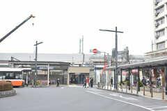 東武伊勢崎線・竹ノ塚駅の様子。(2019-03-17,共用部,ENVIRONMENT,1F)