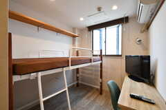 専有部の様子2。ベッド下に荷物を収納できます。(218号室)(2020-02-04,専有部,ROOM,2F)