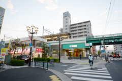 東京メトロ千代田線・北綾瀬駅の様子。(2014-10-25,共用部,ENVIRONMENT,1F)