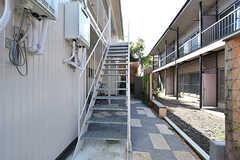 階段の様子。(2016-08-25,共用部,OTHER,1F)