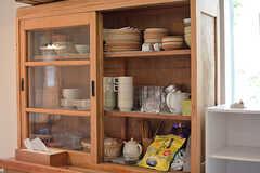 食器棚の様子。(2017-06-12,共用部,LIVINGROOM,1F)