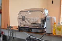 食洗機の様子。(2017-06-12,共用部,KITCHEN,1F)